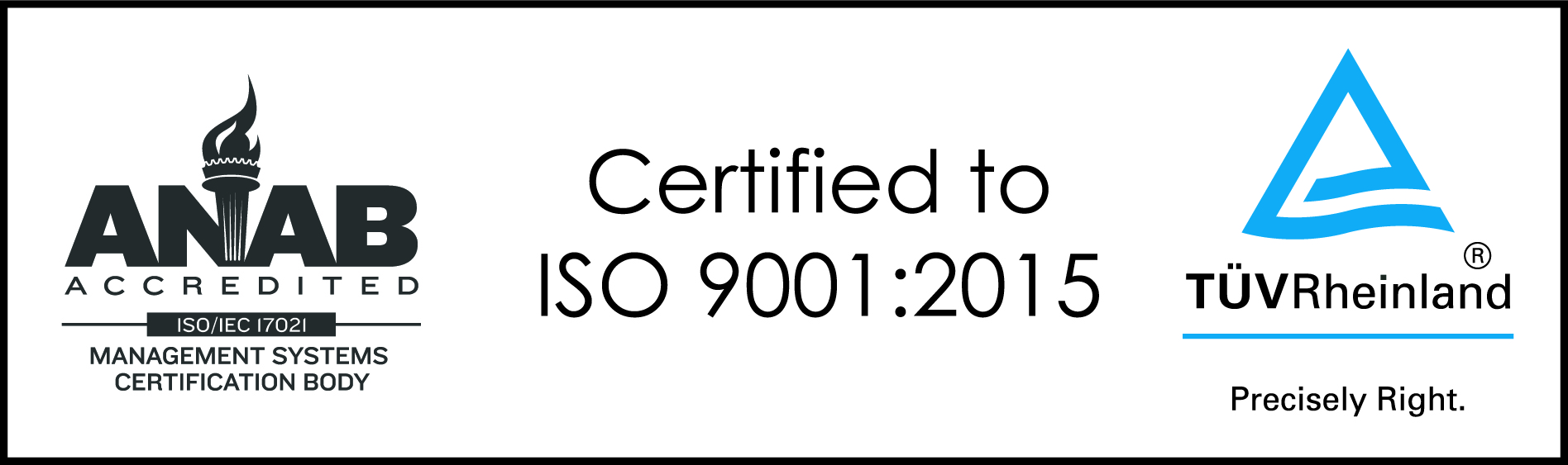 03 ISO 9001 2015 horizontal BW Color
